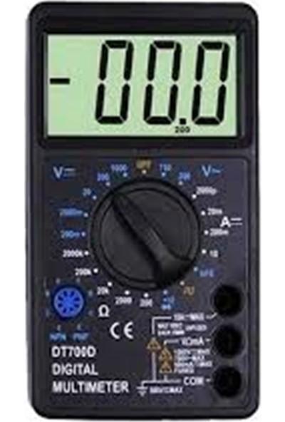 Diyotlab Marxlow Dt860D Buzzerlı Geniş Ekran Multimetre