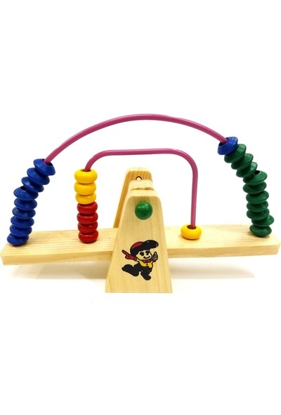Abacus Seesaw Ahşap Tahterevalli Abaküs