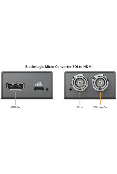 Black Magic Micro Converter SDI To HDMI
