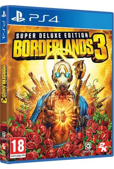 Ps4 Borderlands 3 Super Deluxe Edition