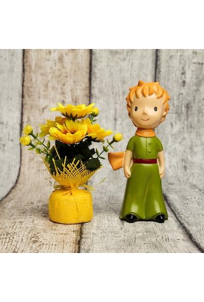 Mor İncir Büyük Boy Küçük Prens ve Çiçek Hediyesi