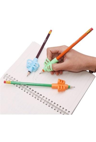Pencil Grip Parmak Kelepçeli Kolay Kalem Tutamağı 3 Lü Set