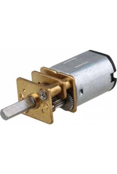 Diyotlab 12V 300 Rpm Redüktörlü Mikro Motor
