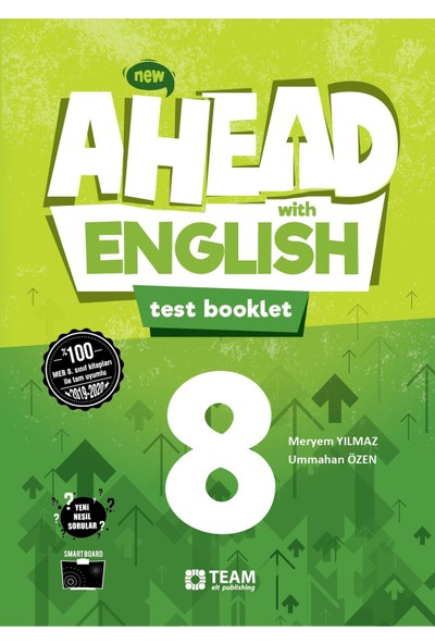 Ahead With English 8 Test Booklet - Meryem Yılmaz - Ummahan Özen