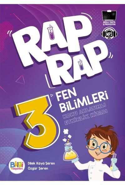 Rap Rap Fen Bilimleri 3 Konu Anlatımlı Etkinlik Kitabı - Dilek Kaya Şeren - Özgür Şeren
