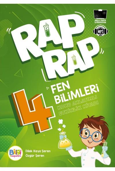 Rap Rap Fen Bilimleri 4 Konu Anlatımlı Etkinlik Kitabı - Dilek Kaya Şeren - Özgür Şeren
