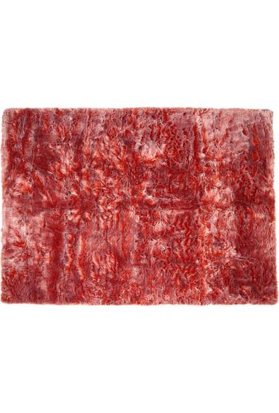 Hepsi Home Ucu Boyalı Halı - 120 x 180 cm - Turuncu