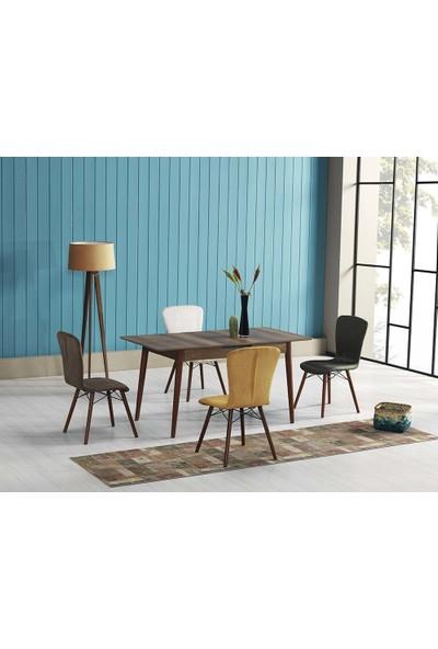 Modelvizyon Wood - Lisbon Masa Takımı
