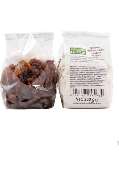 Makarna Lütfen Şekersiz Üzümlü Yulaflı Kurabiye Karışımı 405 gr