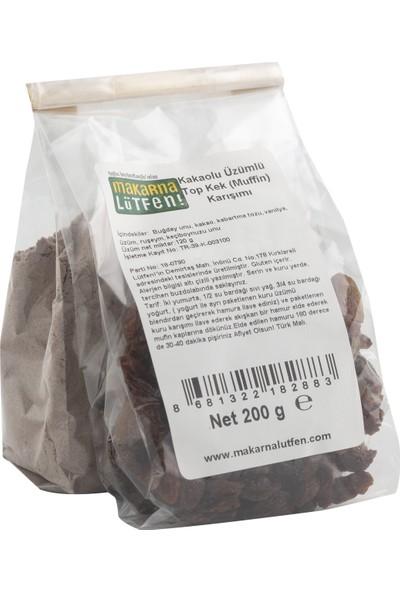 Makarna Lütfen Kakaolu Üzümlü Top Kek Muffin Karışımı 320 gr