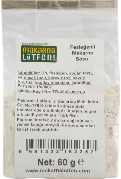 Makarna Lütfen Fesleğenli Makarna Sosu 60 gr