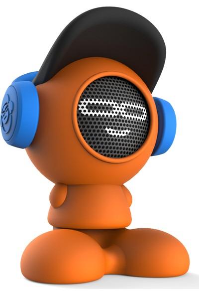 iDance Beat Dude Bluetooth Hoparlör (Turuncu)