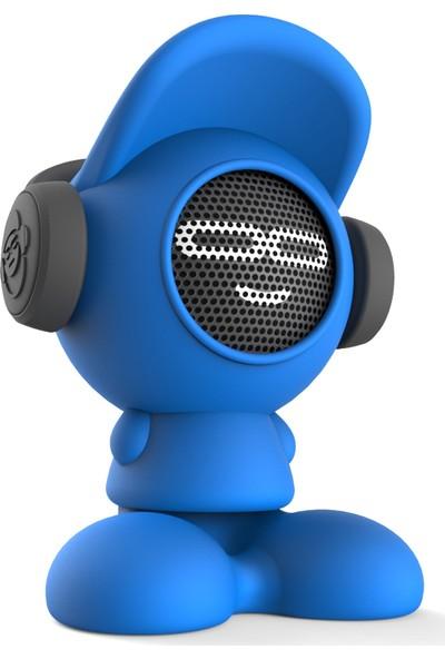 iDance Beat Dude Bluetooth Hoparlör (Mavi)
