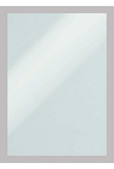 Direct Arkası Mıknatıslı Kenarları Çerçeve Renkli Folyo -Bilgi Cebi A4-Mıknatıs Tutan Her Türlü Yüzeye Yapıştır Kaldır. Gri Çerçeve Rengi