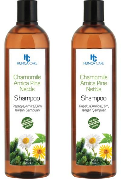 Hunca Care Papatya Özlü Şampuan 700 ml 2'li