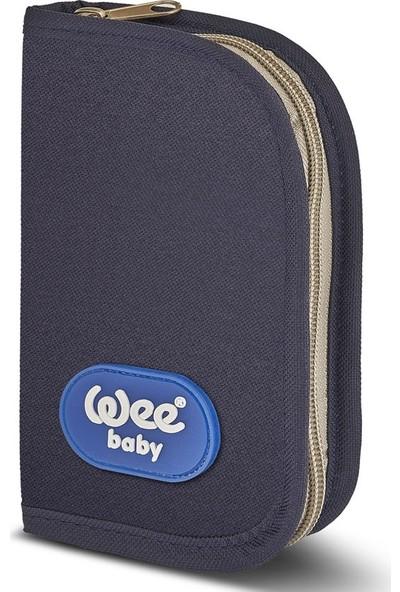 Wee Baby Bebek Bakım Seti - Mavi 9 Parça