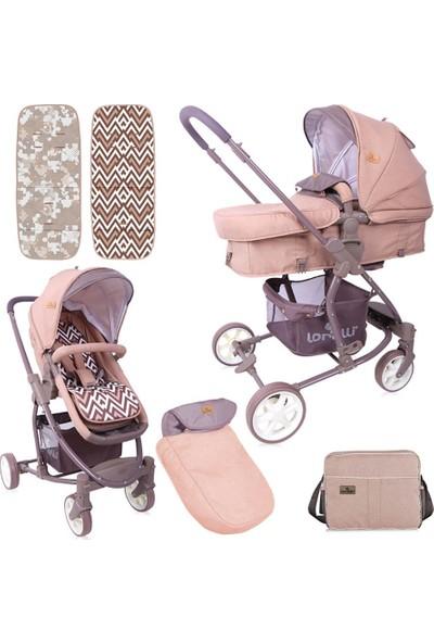 Lorelli Aster Travel Sistem Bebek Arabası - Beige Brown
