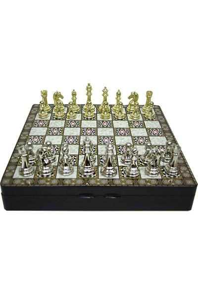 Mory Concept Satranç Seti Klasik Zamak Taşlı
