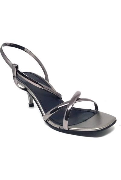 Shop And Shoes 007-010 Kadın Ayakkabı Platin