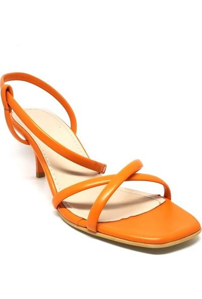 Shop And Shoes 007-010 Kadın Ayakkabı Turuncu