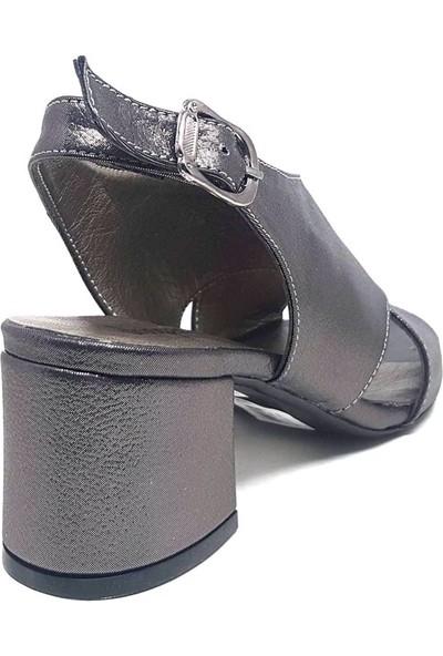 Shop And Shoes 033-1323 Kadın Ayakkabı Platin Sim
