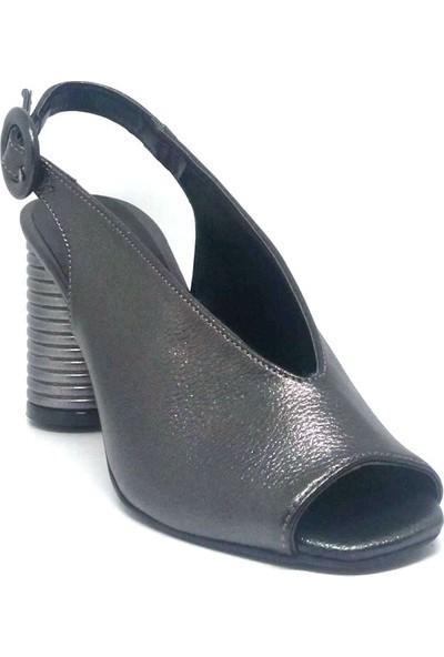 Shop And Shoes 040-302 Kadın Ayakkabı Platin