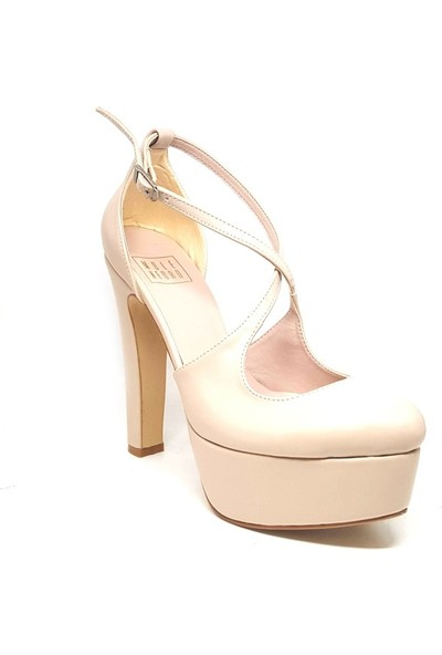 Shop And Shoes 094-503 Kadın Ayakkabı Bej