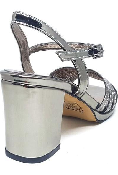 Shop And Shoes 096-100 Kadın Ayakkabı Platin