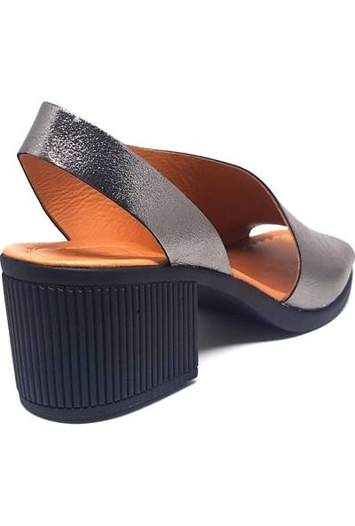 Shop And Shoes 128-690 Kadın Ayakkabı Çelik