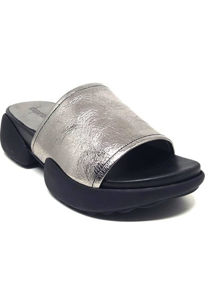 Shop And Shoes 212-9026-4 Kadın Sandalet Platin
