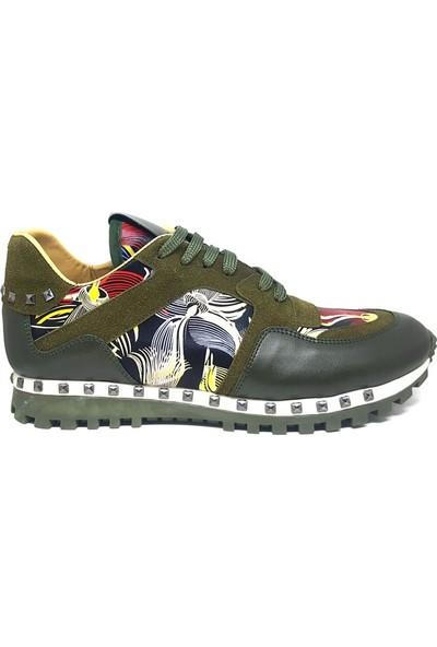 Shop And Shoes 502-036 Erkek Ayakkabı Yeşil