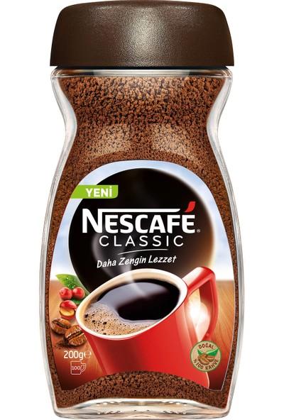 Nescafé Classic Çözünebilir Kahve 200 gr Kavanoz