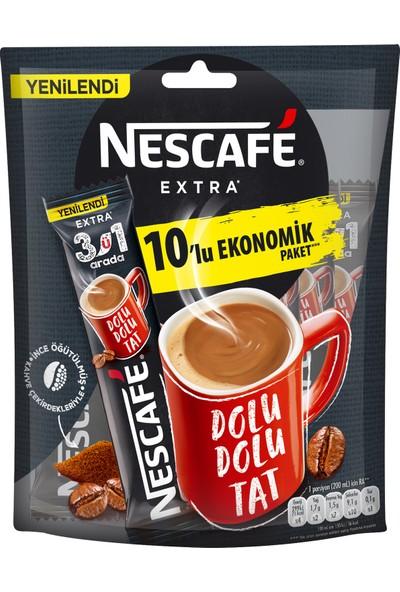Nescafé 3'ü 1 Arada Extra 10'lu Paket 10x16.5 gr