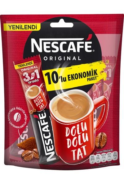 Nescafe 3'ü 1 Arada 10x17,5 gr