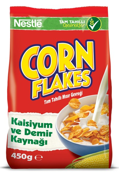 Nestlé Corn Flakes Mısır Gevreği 450 gr