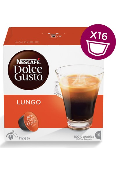 Nescafe Dolce Gusto Lungo 16 Kapsül