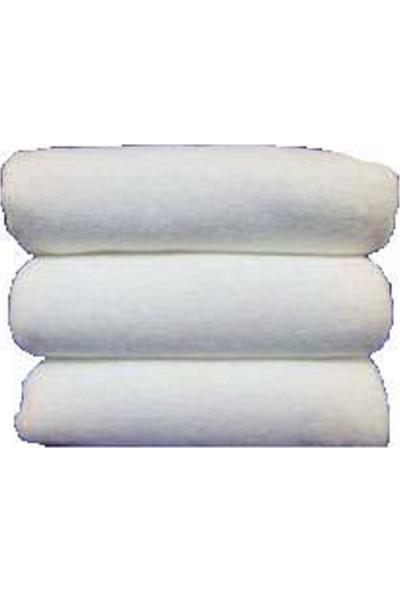 Beyaz Kuaför Havlusu Mikrofiber, Boya Tutmayan, 50X90 cm 12 Adet