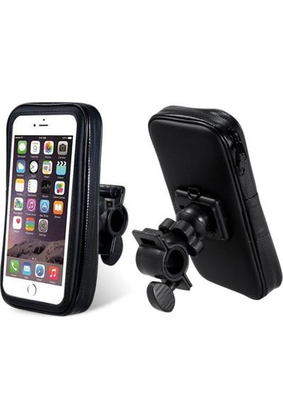 Case 4U Universal Suya Dayanıklı Motosiklet ve Bisiklet Telefon Tutucu