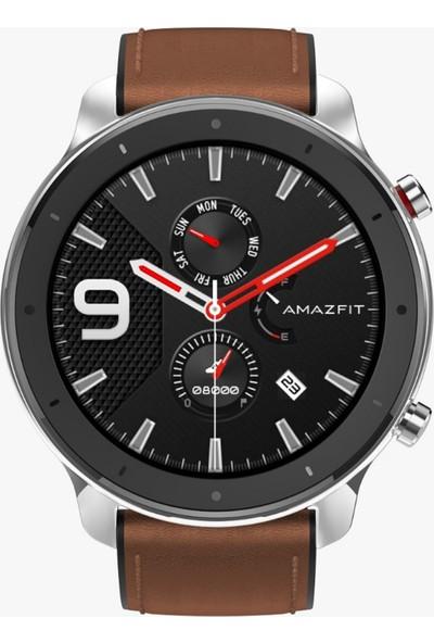 Amazfit GTR Akıllı Saat - Amoled Retina Ekran - 5 ATM Suya Dayanıklı - 47mm Paslanmaz Çelik Çerçeveli - Distribütör Garantili