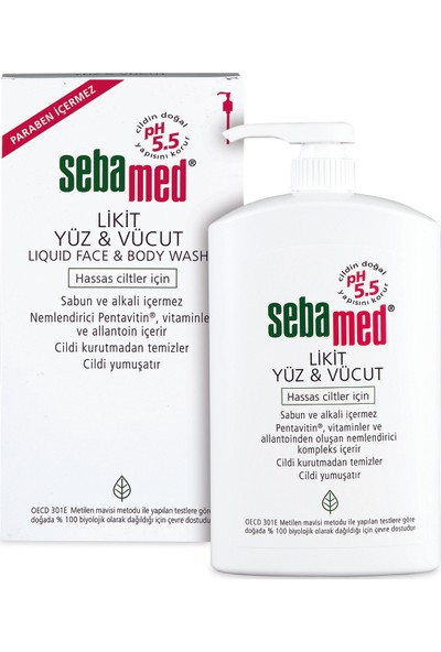 Sebamed Liquid Face & Body Wash 1 lt