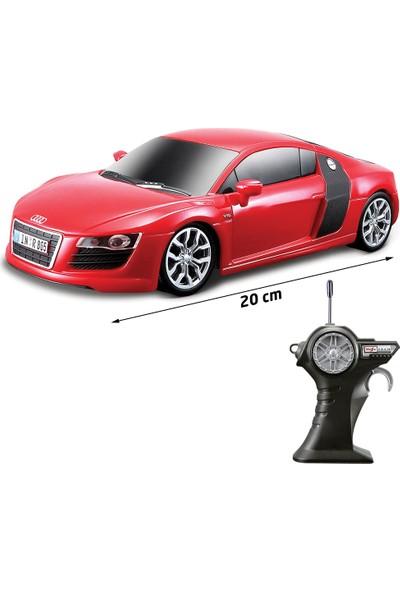 Maisto Tech 1/24 Audi R8 V10 Uzaktan Kumandalı Araba Kırmızı