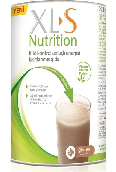 XL-S Nutrition Çikolata Kilo Kontrol Amaçlı Enerjisi Kısıtlanmış Gıda 520 gr