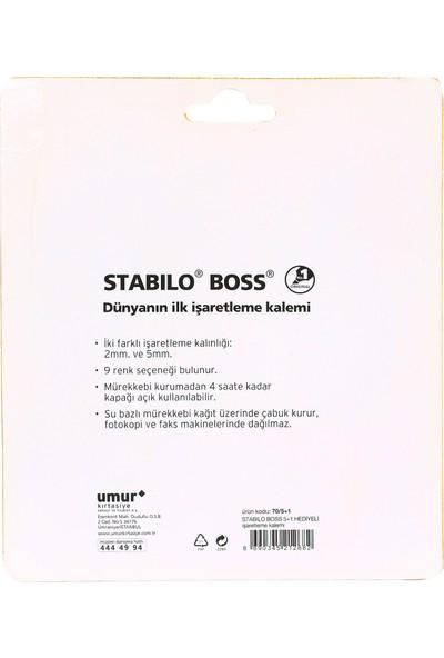 Stabilo Boss Original 5+1 Fosforlu İşaretleme Kalemi