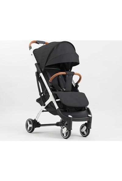 Yoya Plus 3 Bebek Arabası Beyaz Kasa - Siyah