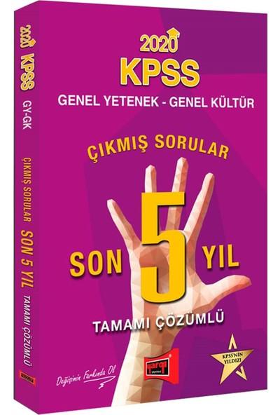 2020 KPSS Genel Yetenek Genel Kültür Son 5 Yıl Tamamı Çözümlü Çıkmış Sorular Yargı Yayınları