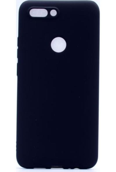Tekno Grup Casper Via F2 Mat Premium Silikon Kılıf - Siyah + Cam Ekran Koruyucu