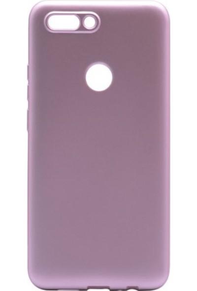 Tekno Grup Casper Via F2 Mat Premium Silikon Kılıf - Rose + Nano Ekran Koruyucu