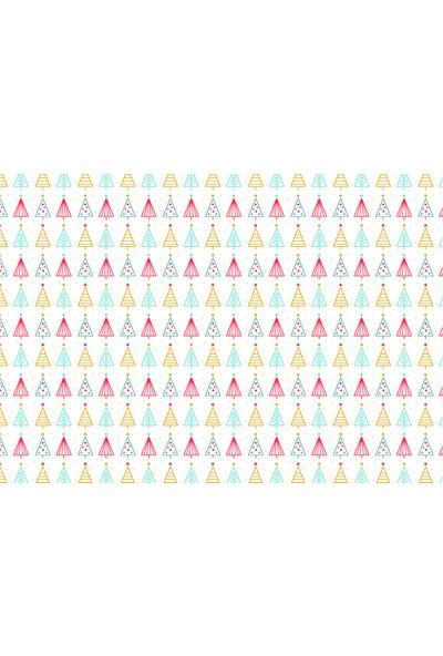 Yamamiya Minik Yılbaşı Ağaçları Amerikan Servis 4'lü Set