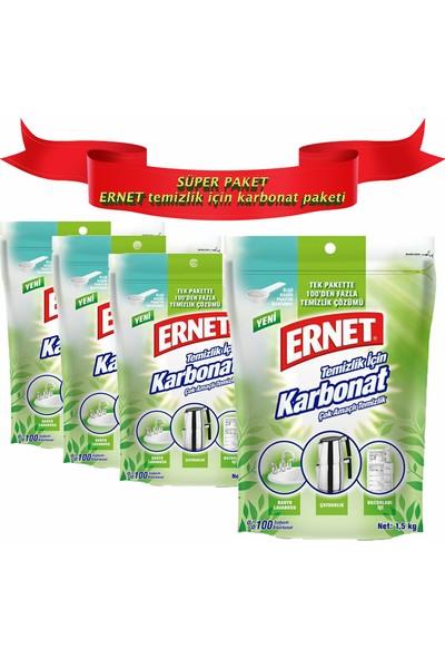 Ernet Temizlik Için Karbonat 1.5 kg x 4 Adet