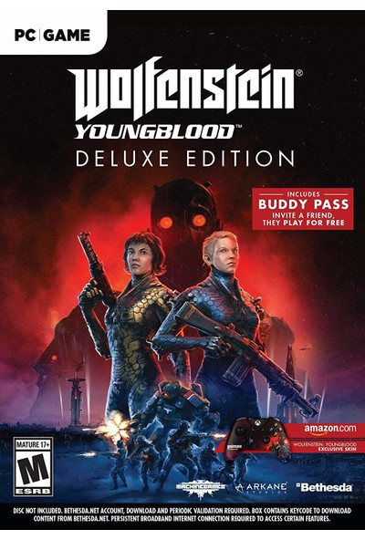 Wolfenstein Youngblood Pc Deluxe Edition Oyun